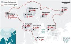 В Китае появится город с населением 42 миллиона человек
