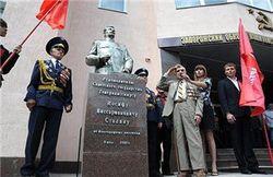 В Украине хотят запретить памятники Сталину