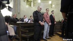 К каким срокам приговорены убийцы охранника Кадырова?