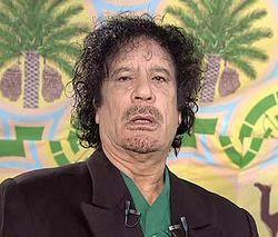 Каддафи бежал из страны?