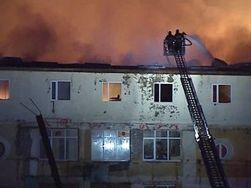 Какие последствия сильного пожара общежития в Москве?