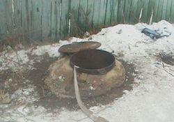 В Киеве под землей сгорел человек