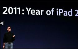 Чем заинтересовал Стив Джобс в новом iPad?
