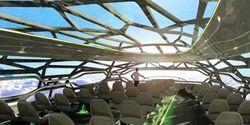 Инвесторам: Airbus начнет производство прозрачных самолетов?