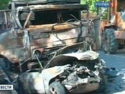 В результате аварии грузовика и автобуса погибли четыре человека