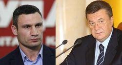 Виталий Кличко и Виктор Янукович