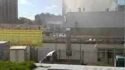 """Утром вспыхнул пожар в гипермаркете """"О'Кей"""" в Петербурге – убытки"""