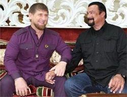 Стивен Сигал посмотрел как тренируется спецназ Чечни