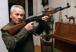Михаил Калашников и его АК