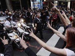 забастовка студентов