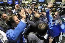 Торги четверга российские акции завершили в зелёной зоне