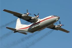 Ан-12 в воздухе