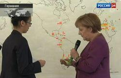 Ангела Меркель «перенесла» Берлин в Россию