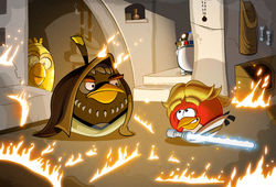 Вторая часть популярнейшей игры Angry Birds выйдет 19 сентября