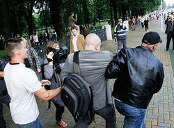 арест журналиста