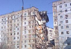Уничтоживший подъезд дома в Астрахани взрыв был следствием суицида