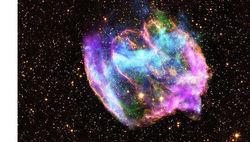 Останки W49B в созвездии Орла могут содержать в себе самую молодую черную дыру
