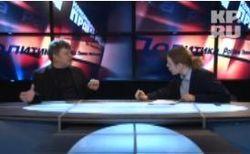 Молодой журналист спровоцировал политика на мат в прямом эфире