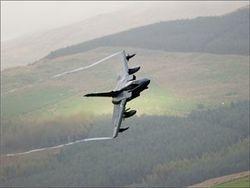 В Шотландии разбился боевой самолет британской ВВС