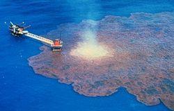 авария на нефтяной вышке