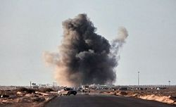 авиаудары по Триполи