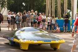 авто на солнечных батареях
