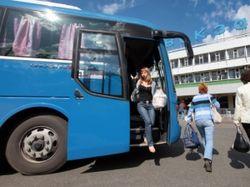 Подозрительный пакет в автобусе в Петербурге заложило ФСБ - СМИ