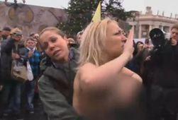 Зарплата Femen достигает 1000 евро в день, - СМИ