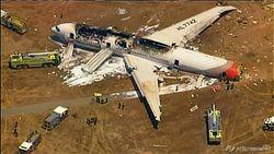 Версии крушения Боинга в аэропорту Сан-Франциско