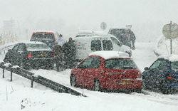Из-за аномального снегопада на Львовщине объявлена чрезвычайная ситуация