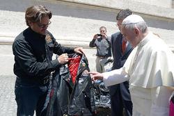 Косуха для Римского папы