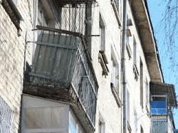 Аварийные балконы - бич старой застройки