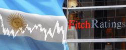 У 20 аргентинских банков и финансовых фондов был понижен рейтинг