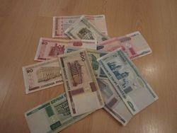 Курс белорусского рубля снизился к фунту стерлингов, но укрепился к японской иене