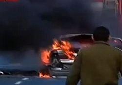 Криминал или теракт: возле Минобороны Израиля взорвали авто