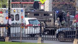 На месте взрывов работаю спецподразделения полиции