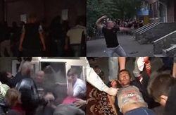 Народ штурмовал милицию из-за изнасилования – есть раненые