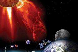 НАСА: самая мощная вспышка на Солнце ударит магнитной бурей