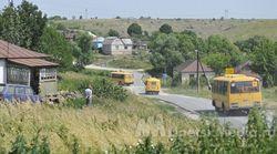 """Сельский автобус стал целью """"террориста"""""""