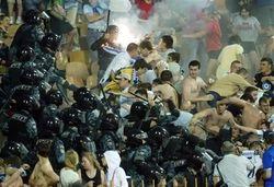 В Минске футбольные фанаты устроили драку с травматами и ножами