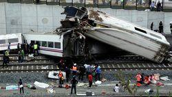 Машинист разбившегося в Испании поезда признал превышение скорости