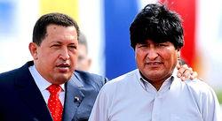 Уго Чавес и Эво Моралес