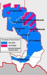 Чечня хочет границу на основе исторической справедливости