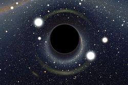 Астрономы обнаружили уникальную черную дыру