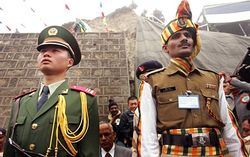 Китайские военные вторглись на территорию Индии и разбили там лагерь