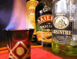 Горящий коктейль - опасная штука