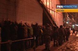 Среди задержанных хоккейных фанов в Москве – майор МЧС