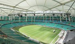 В Бразилии обрушилась часть крыши стадиона для ЧМ-2014 по футболу