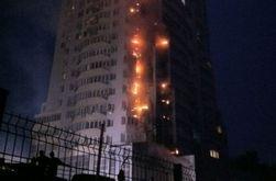 В высокоэтажке на Шулявке в Киеве был взрыв, а потом начался пожар – СМИ