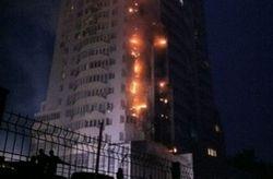 Жители погорелого дома на Шулявке были готовы к новому возгоранию